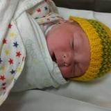 Zach born 1st April 2016